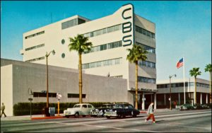 Postcard photo of CBS from the '60s