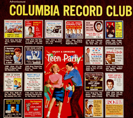Columbia Record Club ad