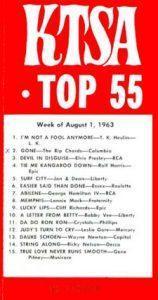 KTSA Top 55 from 1963