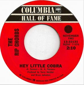 Hey Little Cobra - Columbia Hall of Fame 45